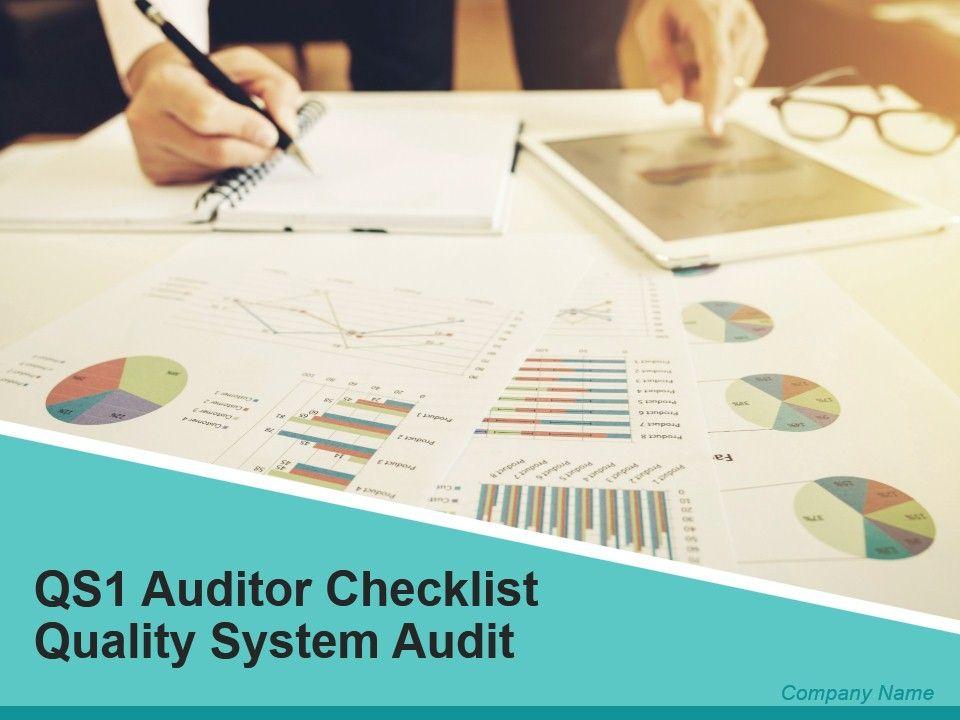 qs1_auditor_checklist_quality_system_audit_powerpoint_presentation_slides_Slide01
