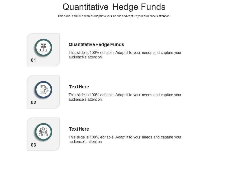 Quantitative Hedge Funds Ppt Powerpoint Presentation Model Information Cpb
