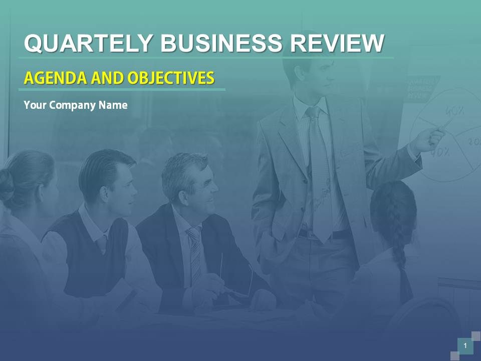 quarterly business review template free