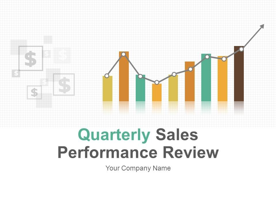 quarterly sales performance review powerpoint presentation with, Presentation templates