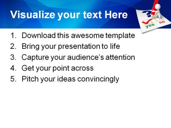 questionnaire business powerpoint templates and powerpoint, Presentation templates