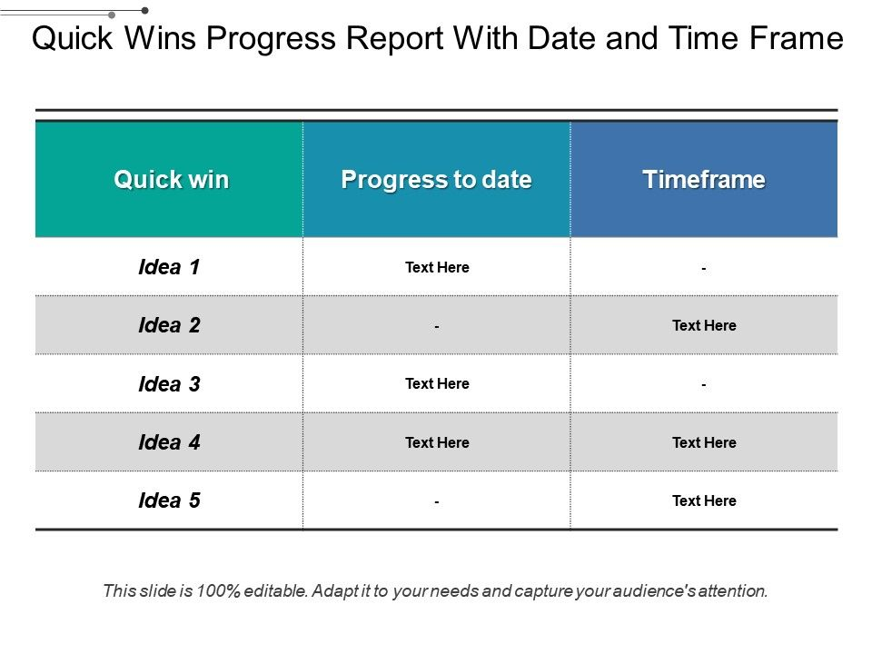 quick_wins_progress_report_with_date_and_time_frame_Slide01