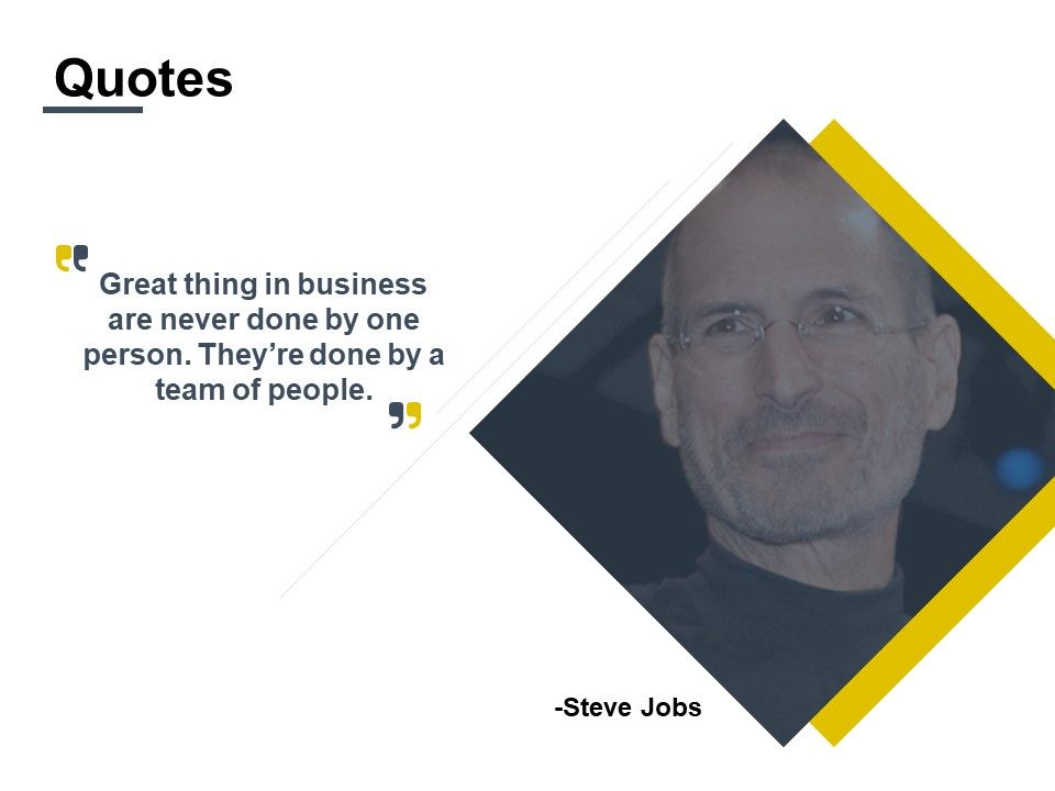 Quotes Team Of People I447 Ppt Powerpoint Presentation Pictures Format