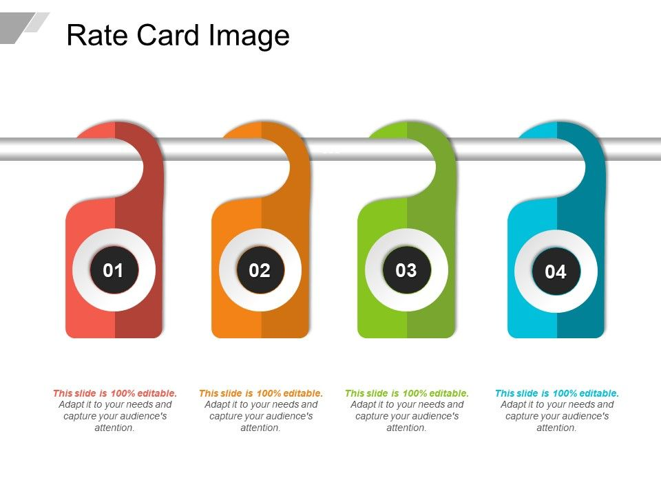 rate card image graphics presentation background for powerpoint