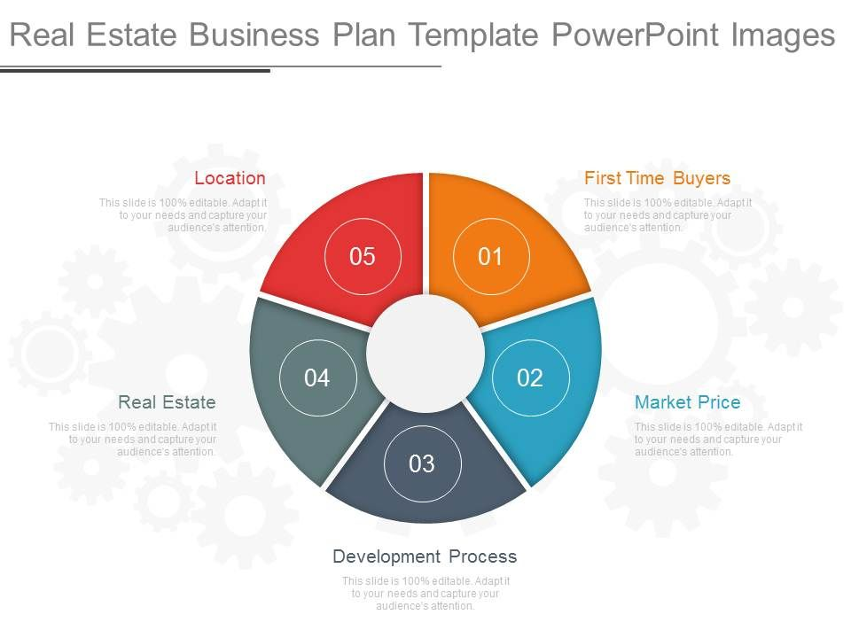 Real Estate Business Plan Template Powerpoint Images  Templates