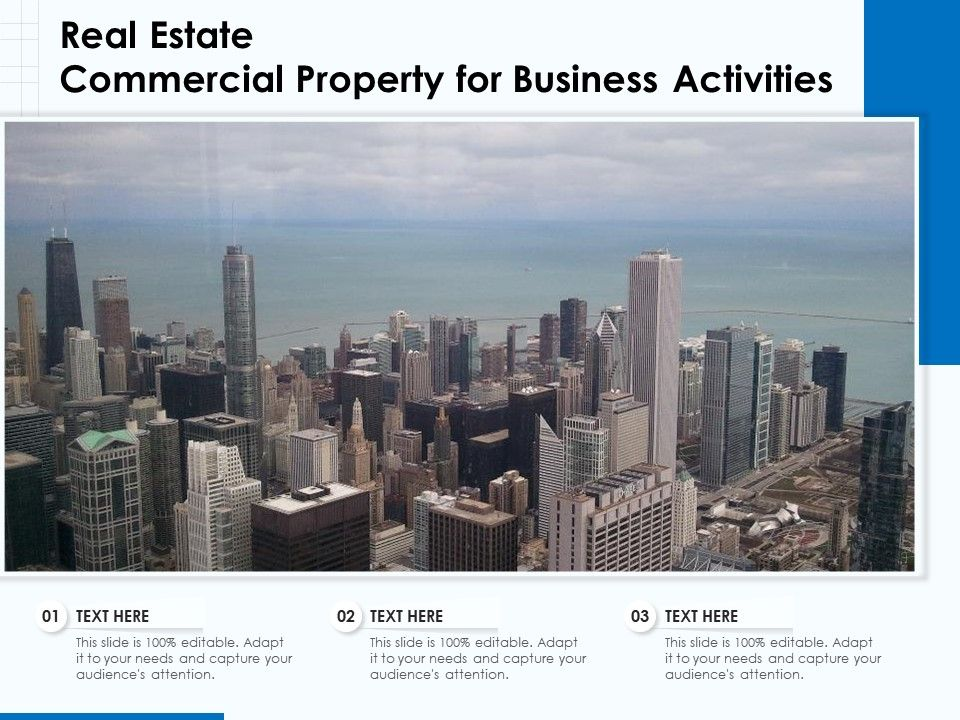 Real Estate Commercial Property For Business Activities