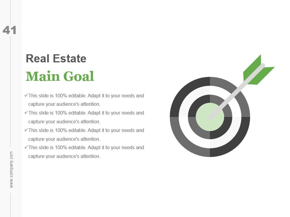 powerpoint presentation on real estate business