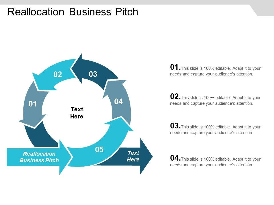 Reallocation Business Pitch Ppt Powerpoint Presentation Icon Aids