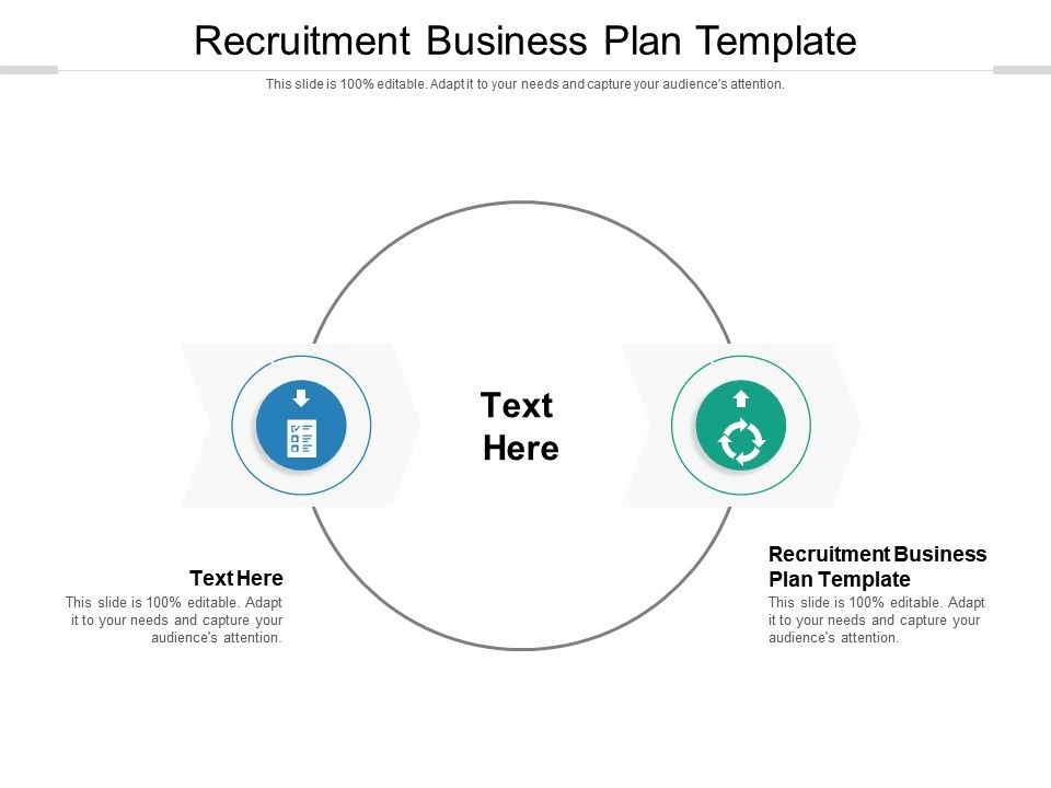 Recruitment Business Plan Template Ppt Powerpoint Presentation Layouts Show Cpb