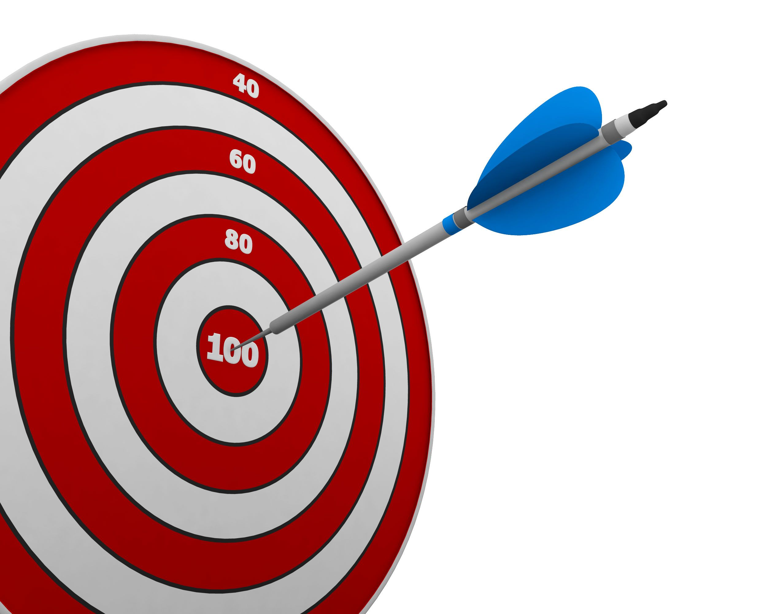7e9cf48a116 Red Dartboard And Arrow To Show Success Target Stock Photo ...