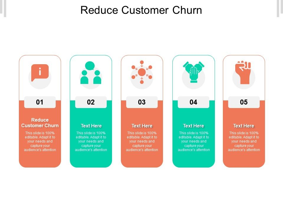 Reduce Customer Churn Ppt Powerpoint Presentation Infographics Show Cpb