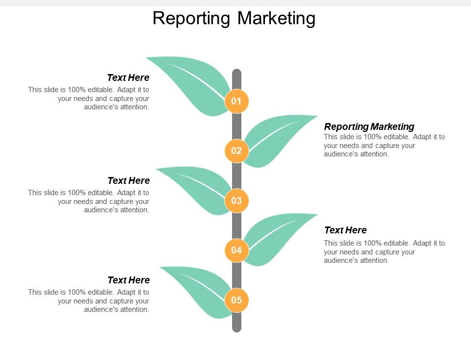 Reporting Marketing Ppt Powerpoint Presentation File Vector Cpb