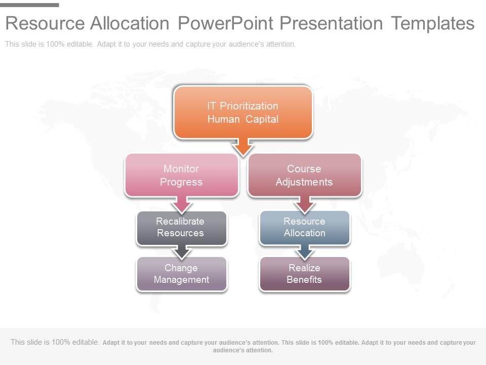 resource allocation powerpoint presentation templates powerpoint