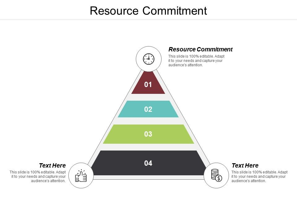Resource Commitment Ppt Powerpoint Presentation Ideas Layout