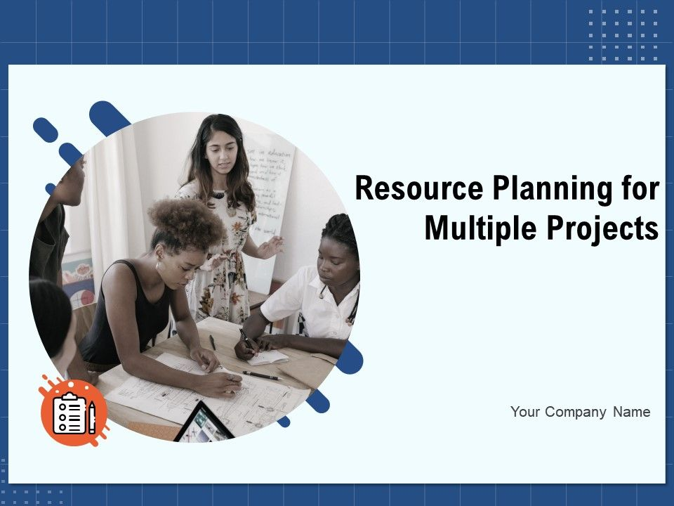Resource Planning For Multiple Projects Powerpoint Presentation Slides