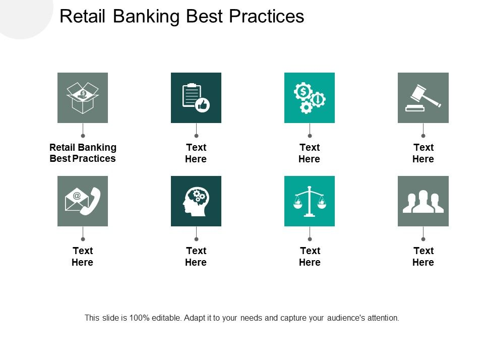 Retail Banking Best Practices Ppt Powerpoint Presentation