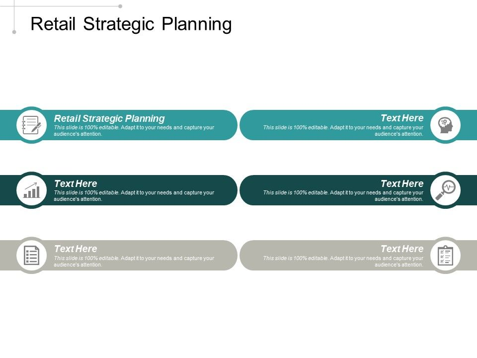 Retail Strategic Planning Ppt Powerpoint Presentation Professional