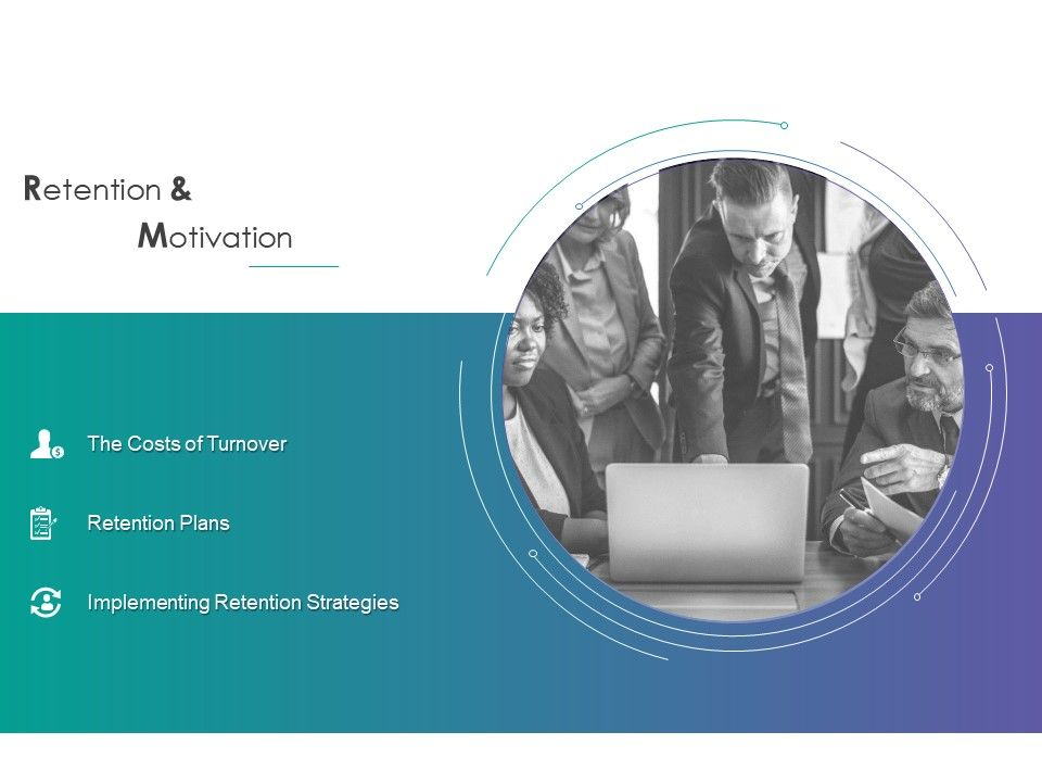 Retention And Motivation Costs Turnover Powerpoint Presentation Format Ideas