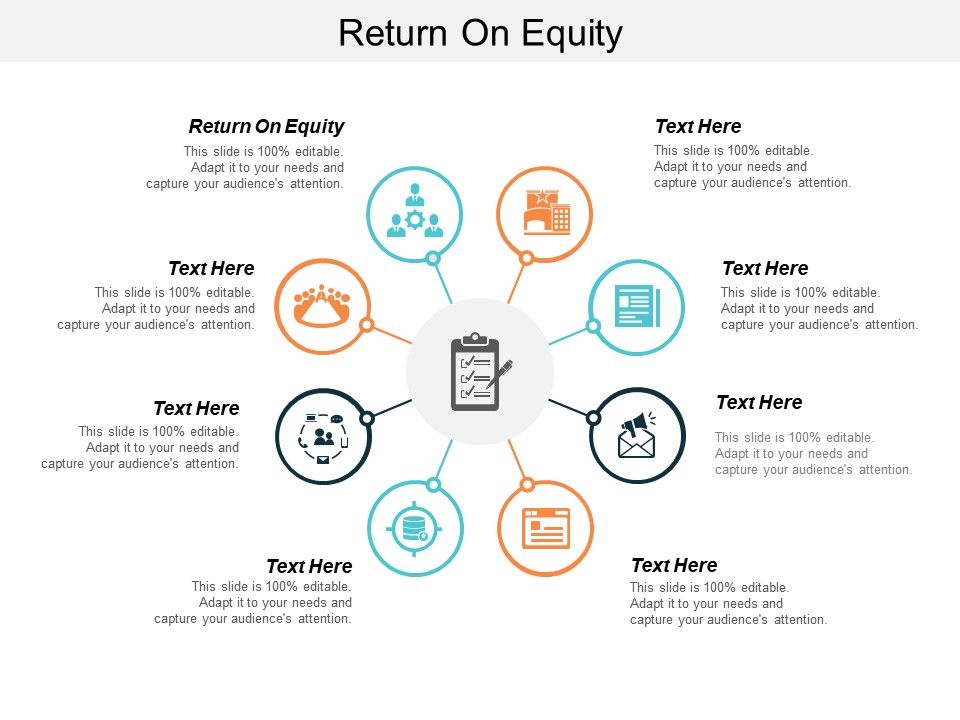 return on equity ppt powerpoint presentation icon
