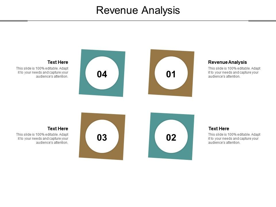 Revenue Analysis Ppt Powerpoint Presentation Pictures Diagrams Cpb
