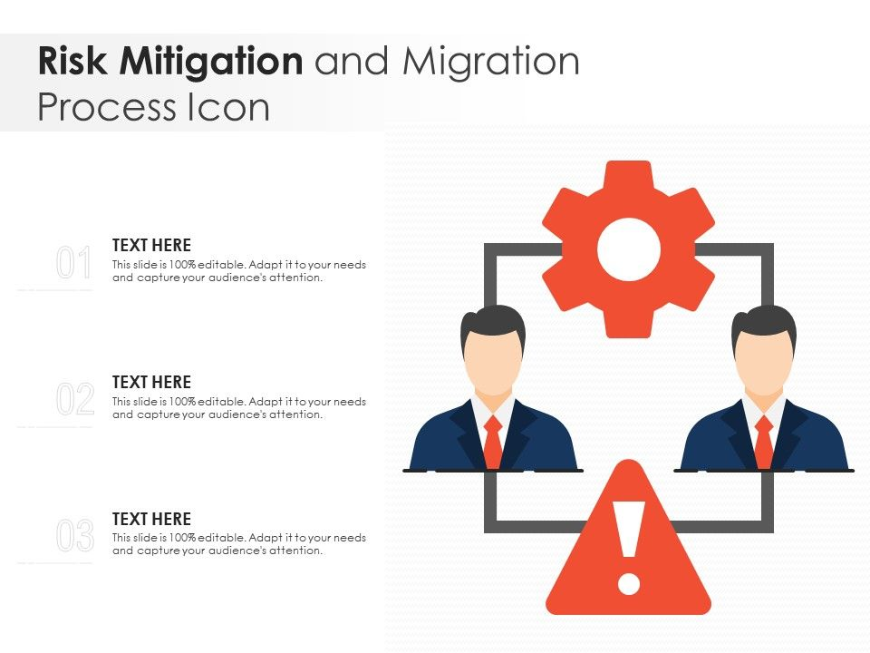Risk Mitigation And Migration Process Icon
