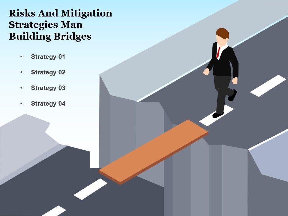 Risks and mitigation strategies man building bridges powerpoint risksandmitigationstrategiesmanbuildingbridgespowerpointslideideasslide01 ccuart Gallery
