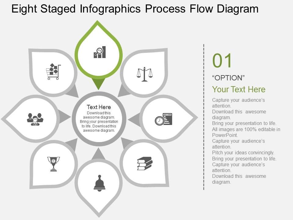 Rj eight staged infographics process flow diagram flat powerpoint rjeightstagedinfographicsprocessflowdiagramflatpowerpointdesignslide02 ccuart Image collections