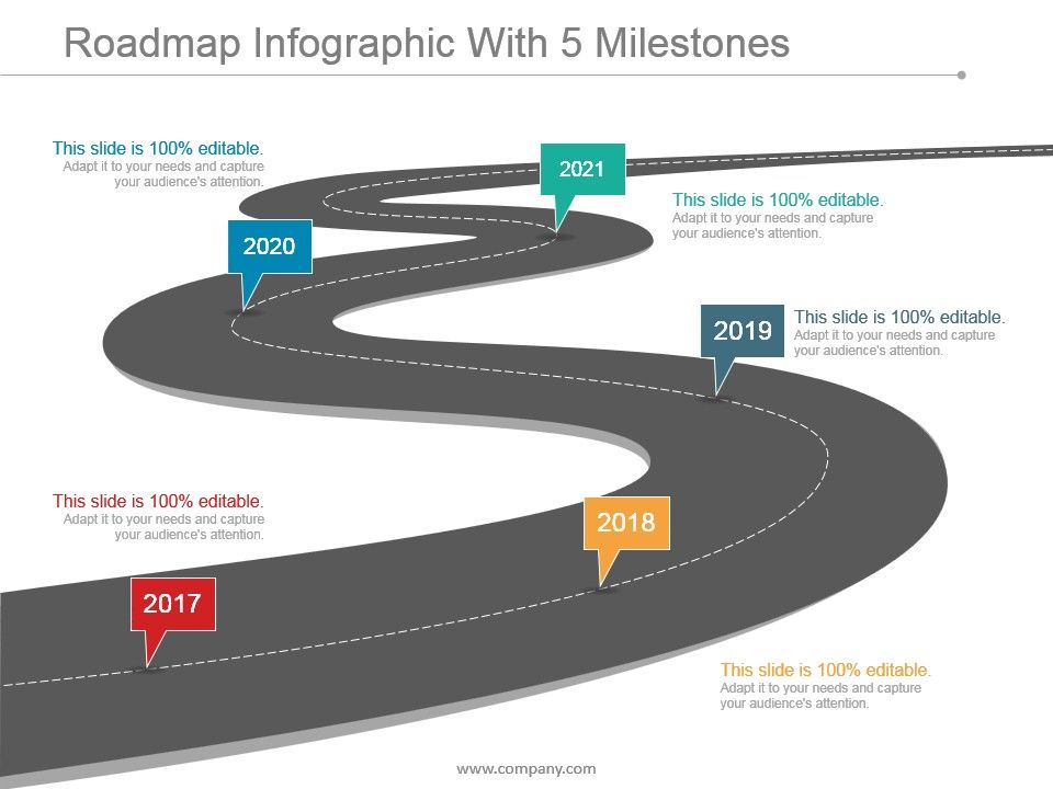 roadmap_infographic_with_5_milestones_presentation_design_Slide01