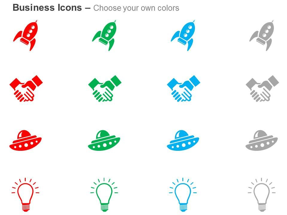 rocket business deal idea generation ppt icons graphics | template, Presentation templates