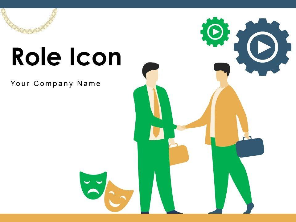 Role Icon Arrows Methodology Organizational Gear Management Leadership
