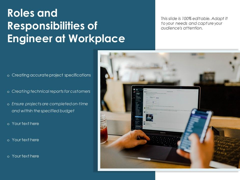 Roles And Responsibilities Of Engineer At Workplace