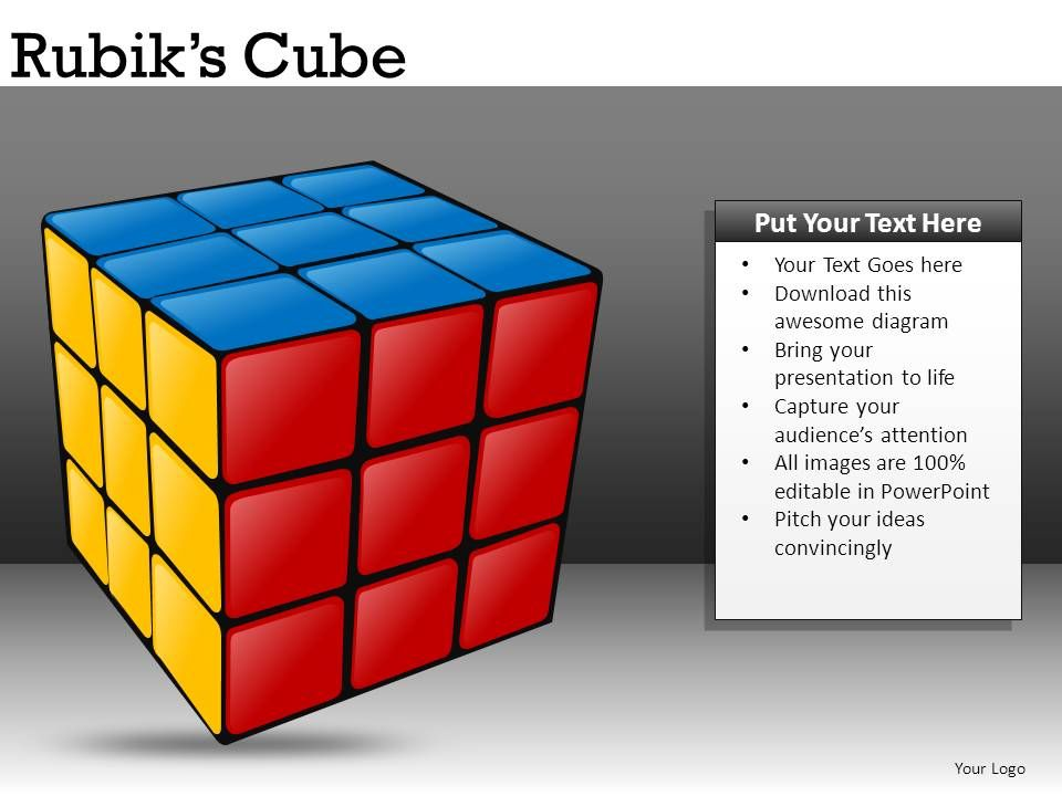 slide cubes