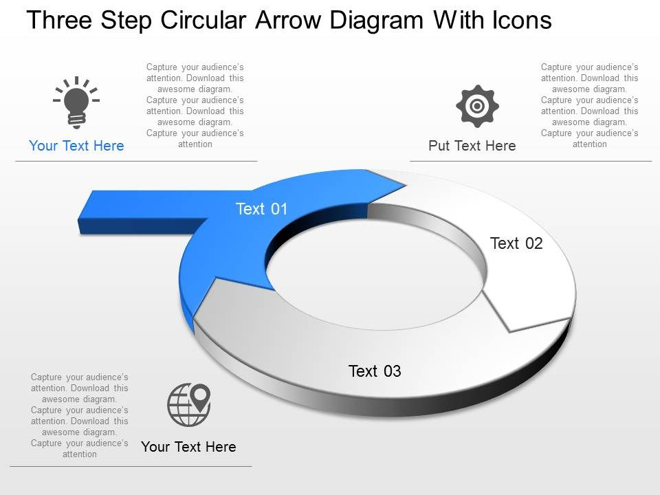 Rv three step circular arrow diagram with icons powerpoint template rvthreestepcirculararrowdiagramwithiconspowerpointtemplateslide01 rvthreestepcirculararrowdiagramwithiconspowerpointtemplateslide02 ccuart Gallery