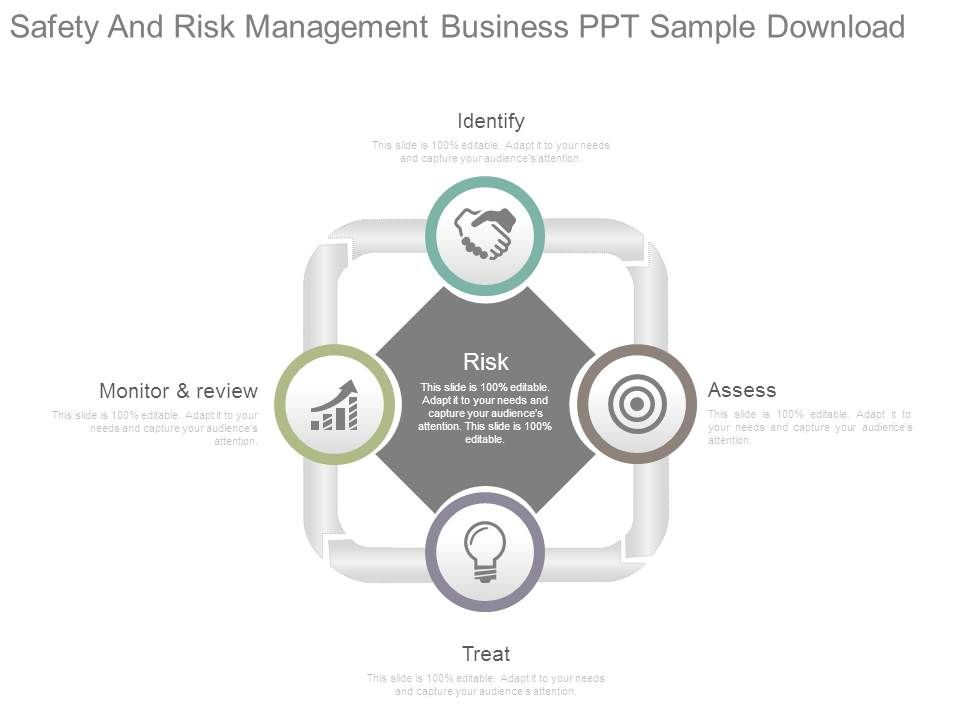Safety And Risk Management Business Ppt Sample Download Powerpoint