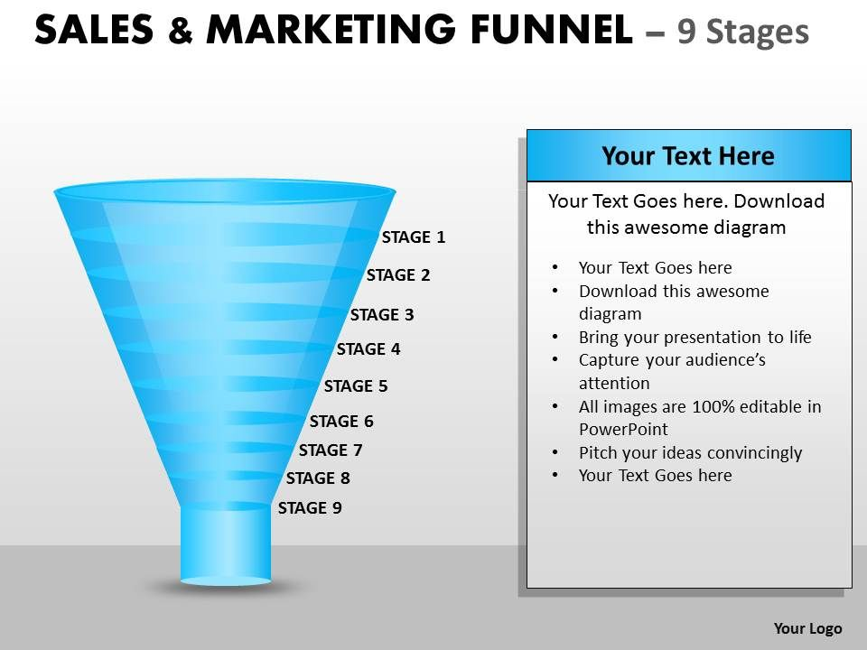 sales_and_marketing_funnel_with_9_stages_Slide01
