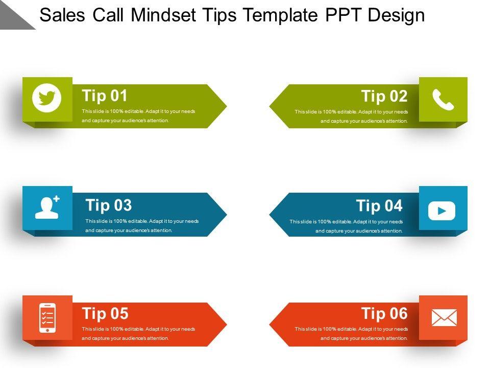 sales_call_mindset_tips_template_ppt_design_Slide01