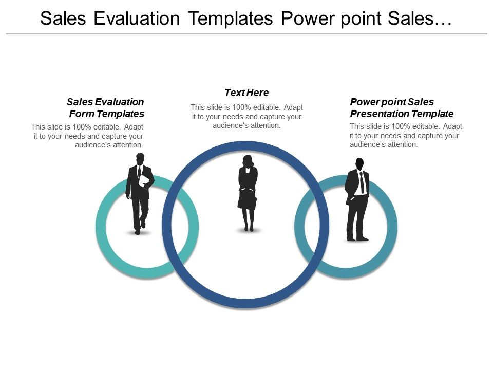 sales evaluation templates powerpoint sales presentation template