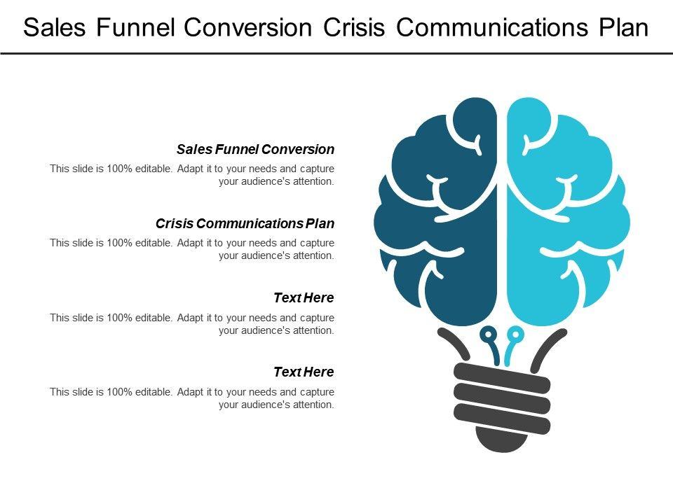 S Funnel Conversion Crisis Communications Plan Content Marketing B2b Cpb Slide01