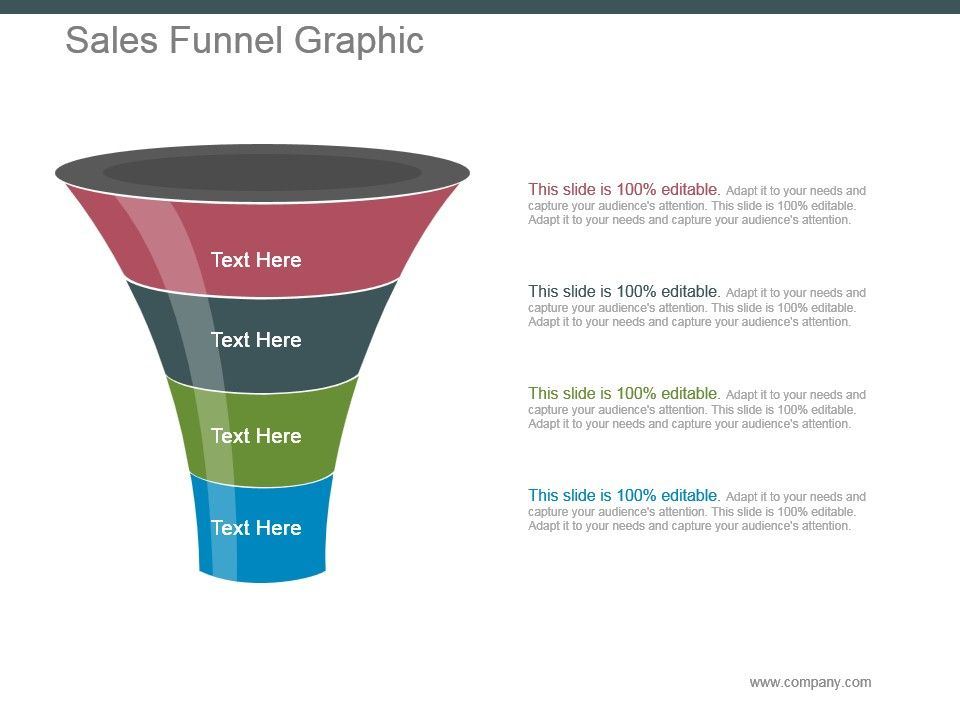 Sales Funnel Graphic Powerpoint Slide Templates Download