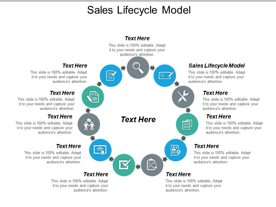 Sales Lifecycle Model Ppt Powerpoint Presentation Icon Example Topics Cpb