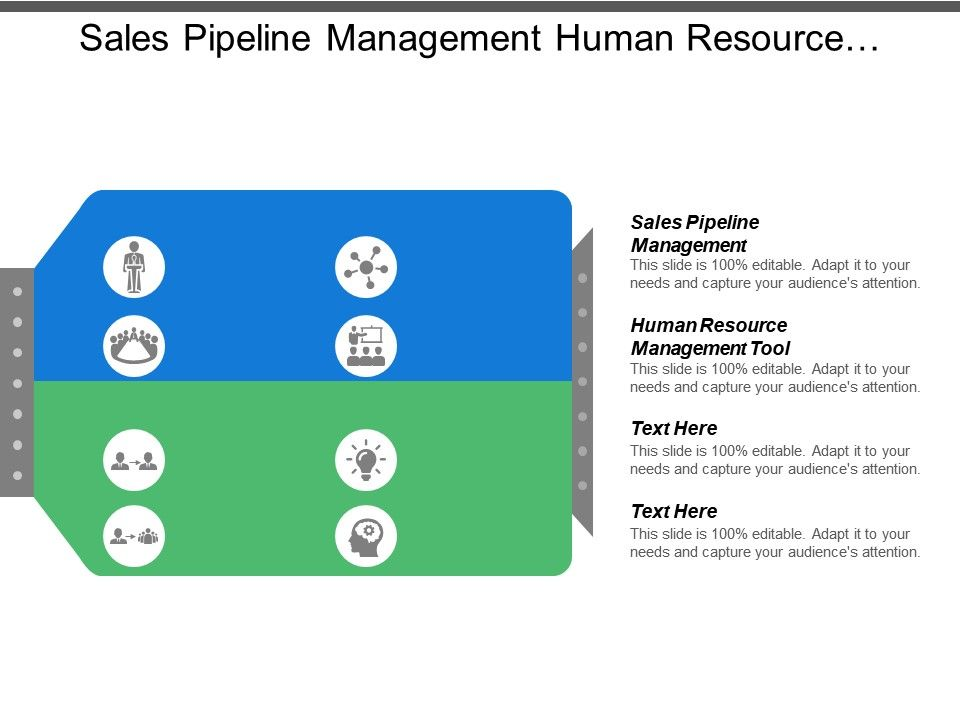 sales pipeline management human resource management tool supplier