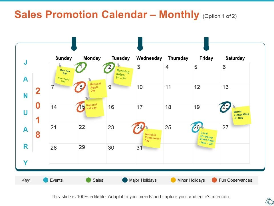sales_promotion_calendar_monthly_option_ppt_show_infographic_template_Slide01