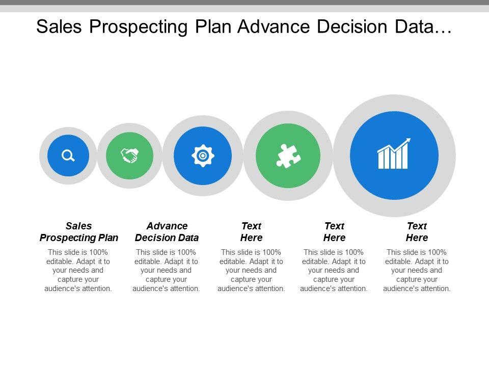 Sales Prospecting Plan Advance Decision Data Revenue Generation