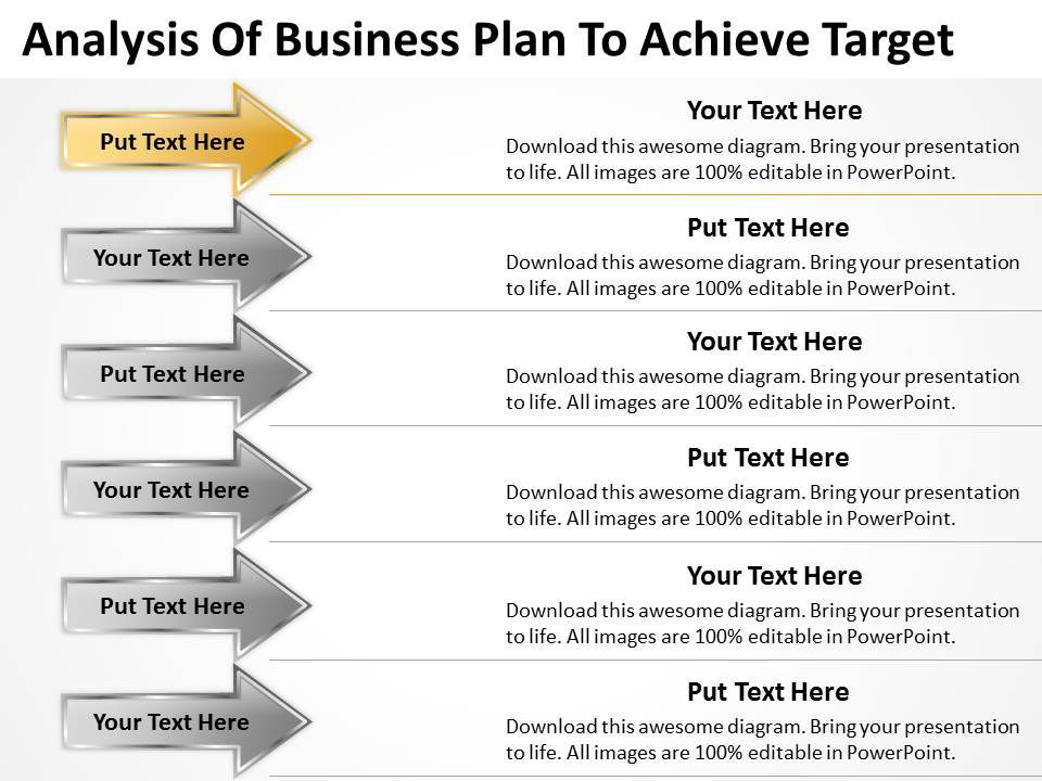 sample business plan powerpoint