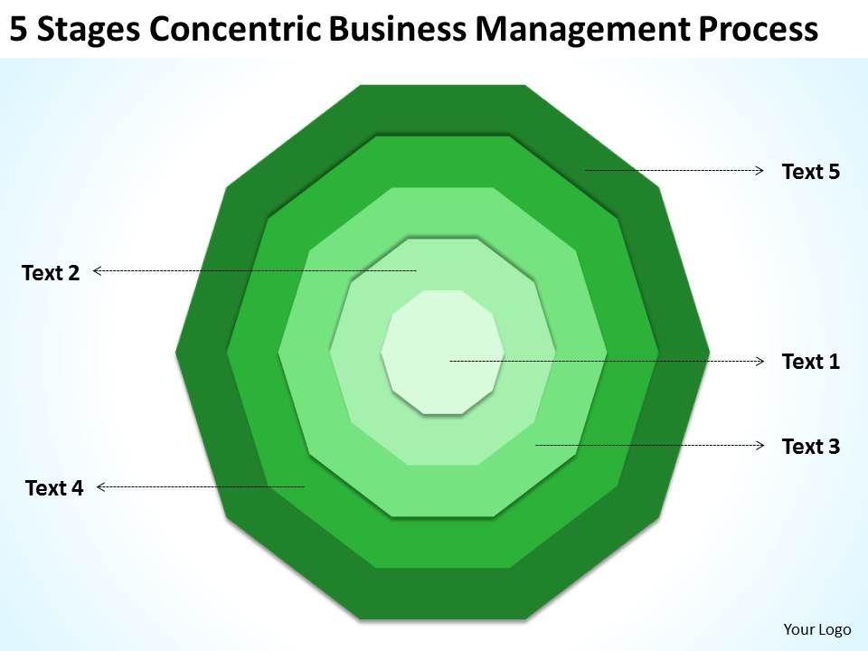 Sample Business Process Diagram Management Powerpoint Templates PPT