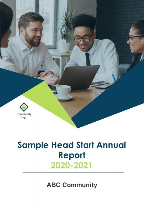Sample Head Start Annual Report PDF DOC PPT Document Report Template