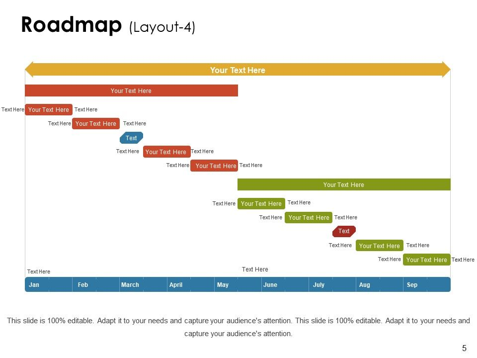 sample roadmap ppt powerpoint presentation slides powerpoint