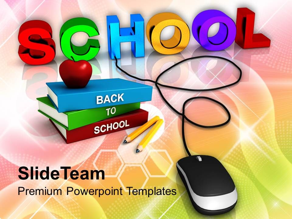 Powerpoint Templates Training Wired To School Education Success
