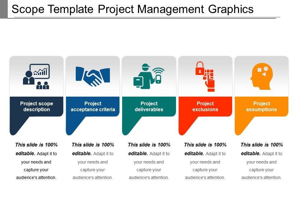 scope template project management graphics ppt icon powerpoint