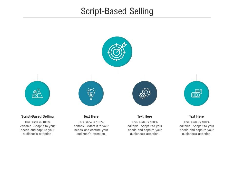 Script Based Selling Ppt Powerpoint Presentation Styles Icon Cpb